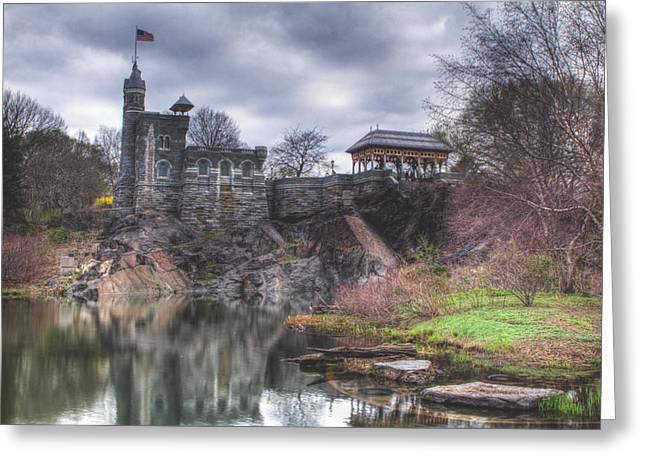 Belvedere Greeting Cards - Belvedere Castle  Greeting Card by Ariane Moshayedi
