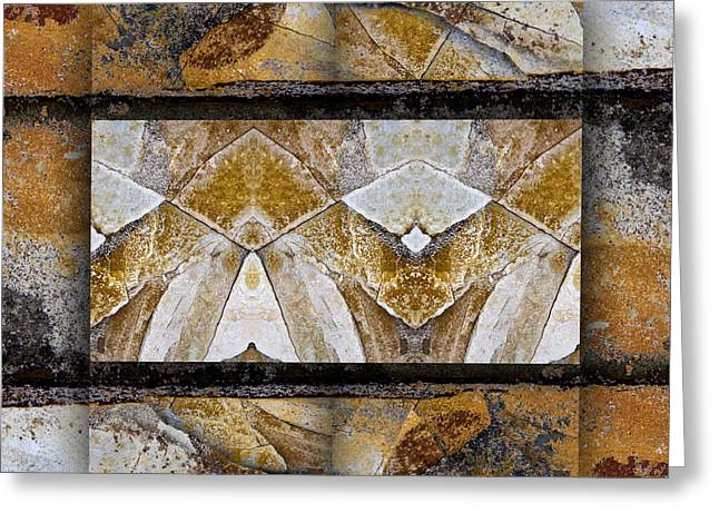 Geology Photographs Greeting Cards - Between Tides Number 11 Square Greeting Card by Carol Leigh