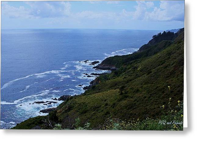 Pfeiffer Beach Greeting Cards - Big Sur Coastline Greeting Card by PJQandFriends Photography