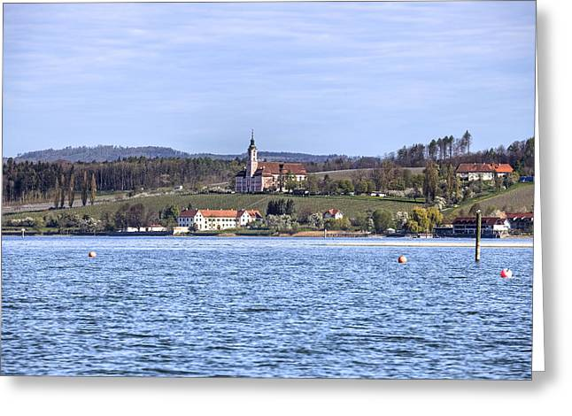 Lake Constance Greeting Cards - Birnau Greeting Card by Joana Kruse