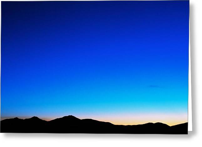Sunset Greeting Cards Greeting Cards - Blue Night Greeting Card by Kevin Bone