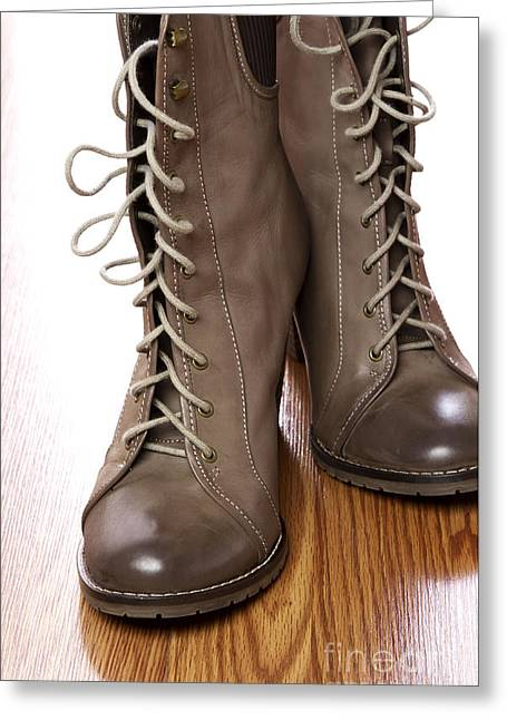 Boot Greeting Cards - Boots Greeting Card by Blink Images