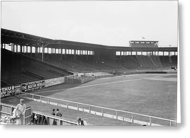 Fenway Park Greeting Cards - Boston: Fenway Park, 1912 Greeting Card by Granger