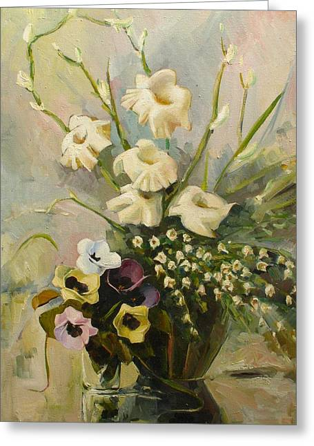 Classic Greeting Cards - Bouquet Greeting Card by Tigran Ghulyan