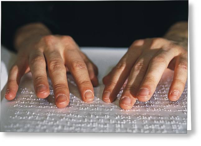 Disability Greeting Cards - Braille Greeting Card by Lawrence Lawry