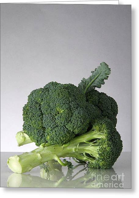 Broccoli Greeting Cards - Broccoli Greeting Card by Photo Researchers, Inc.