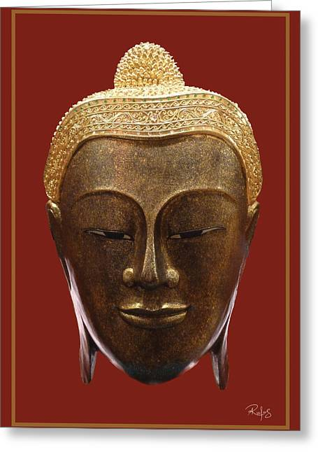 Self Discovery Photographs Greeting Cards - Buddhas Pleasure Greeting Card by Allan Rufus