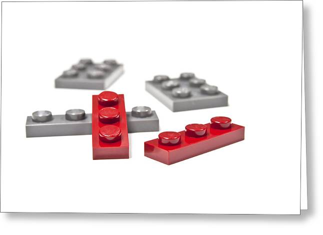 Lego Greeting Cards - Building blocks. Greeting Card by Fernando Barozza
