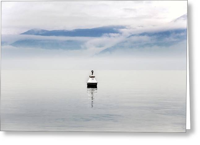 Desert Lake Greeting Cards - Buoy Greeting Card by Joana Kruse
