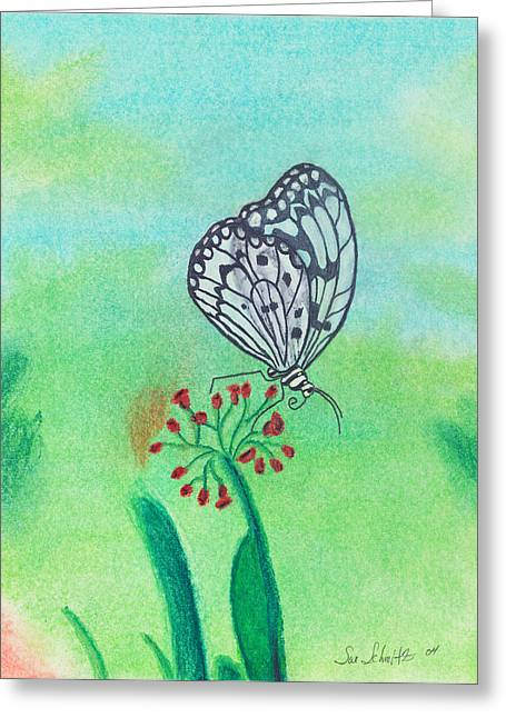 Susan Schmitz Greeting Cards - Butterfly Greeting Card by Susan Schmitz