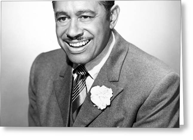 CAB CALLOWAY (1907-1994) Greeting Card by Granger