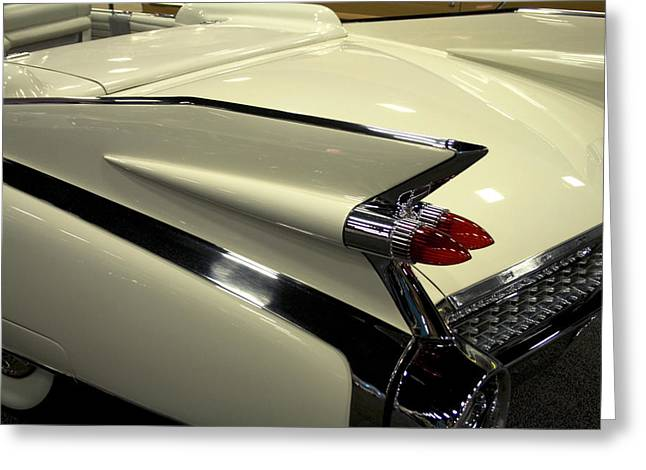 Terry Thomas Greeting Cards - Caddy Fin Greeting Card by Terry Thomas