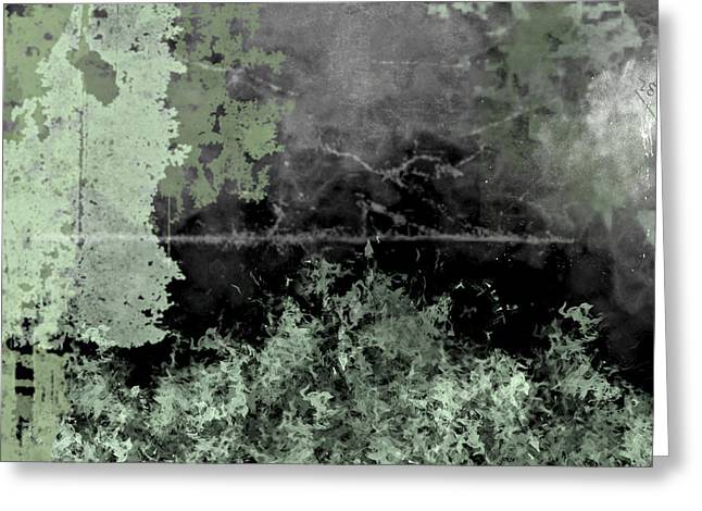 Distressed Greeting Cards - Camo Greeting Card by Christopher Gaston