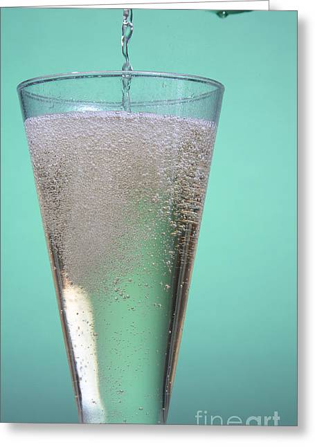Carbonation Greeting Cards - Carbonated Drink Greeting Card by Photo Researchers, Inc.