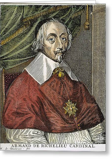Maltese Greeting Cards - Cardinal Richelieu Greeting Card by Granger