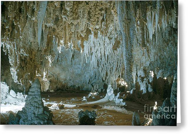 Cavern Greeting Cards - Carlsbad Caverns Greeting Card by Photo Researchers, Inc.