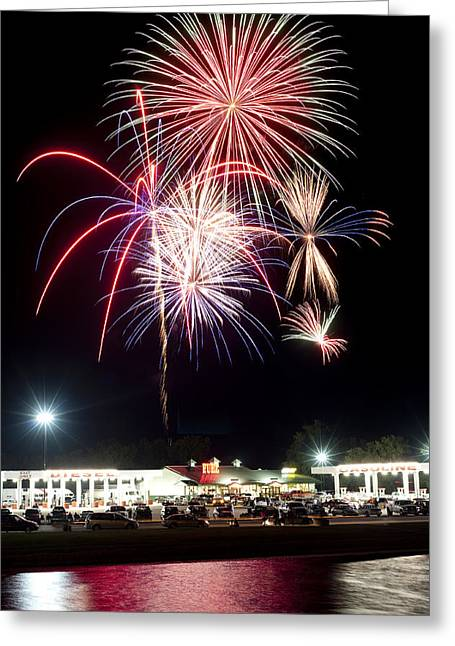 4th July Photographs Greeting Cards - Celebration  Greeting Card by Malania Hammer