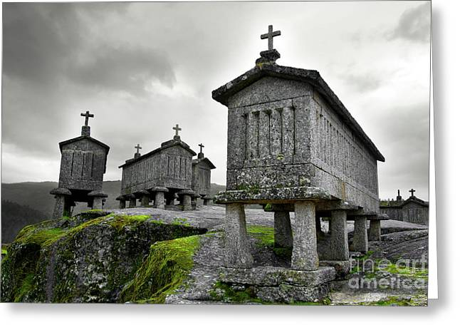 Ancient Religion Greeting Cards - Cereal Keepers Greeting Card by Carlos Caetano