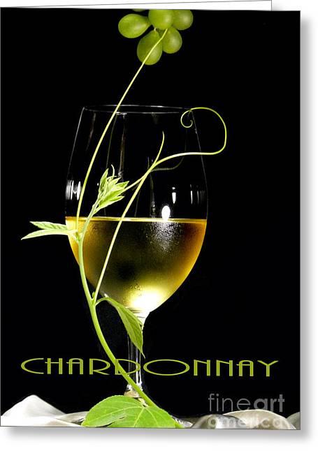 Wine Grapes Greeting Cards - Chardonnay Greeting Card by Jose Luis Reyes