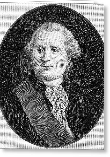 Statesman Greeting Cards - CHARLES de VERGENNES Greeting Card by Granger