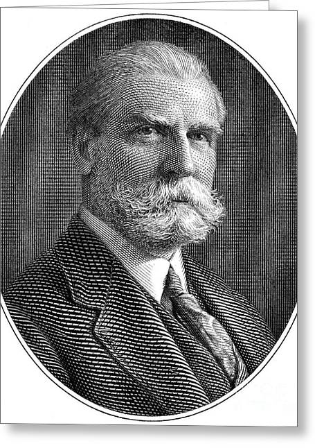 Chief Justice Greeting Cards - Charles Evans Hughes Greeting Card by Granger