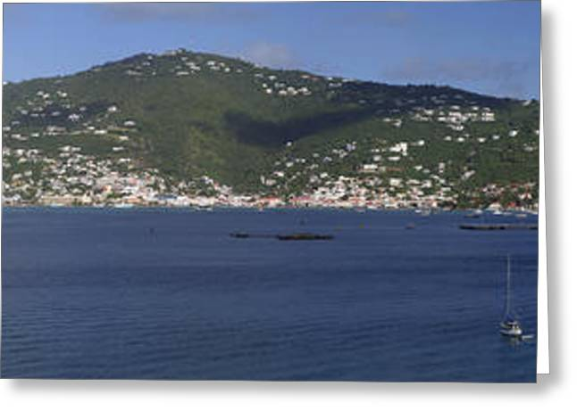 Charlotte Greeting Cards - Charlotte Amalie Greeting Card by Gary Lobdell