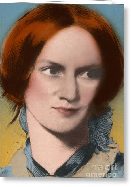 Charlotte Photographs Greeting Cards - Charlotte Bronte Greeting Card by Science Source