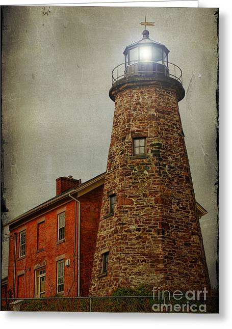 Charlotte Photographs Greeting Cards - Charlotte Genesee Lighthouse Greeting Card by Joel Witmeyer