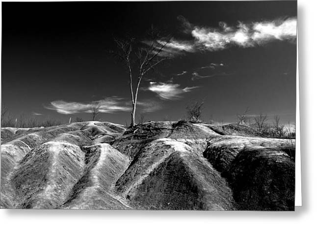 Black Top Greeting Cards - Cheltenham Badlands Greeting Card by Cale Best