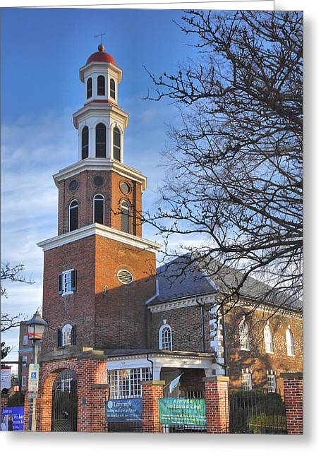 Historical Acrylic Prints Greeting Cards - Christ Church Episcopal I Greeting Card by Steven Ainsworth