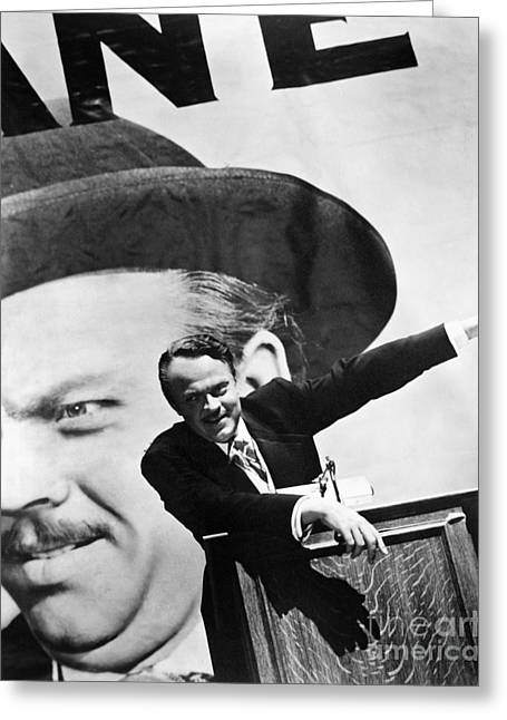 Citizens Greeting Cards - Citizen Kane. 1941 Greeting Card by Granger