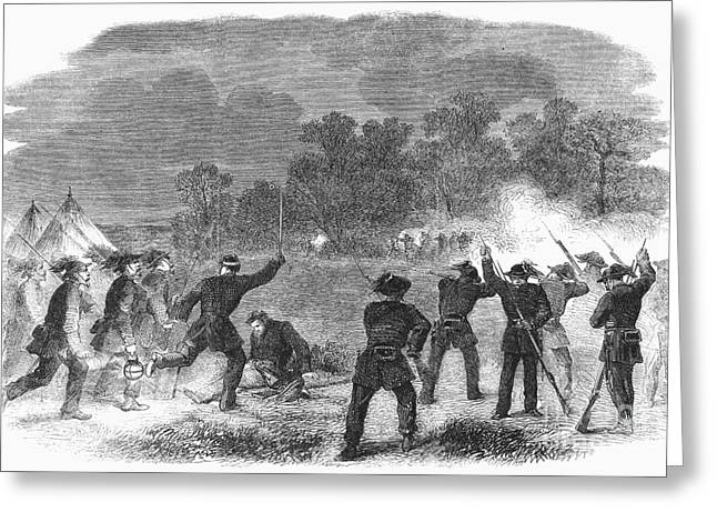 Reloading Greeting Cards - Civil War: Garibaldi Guard Greeting Card by Granger