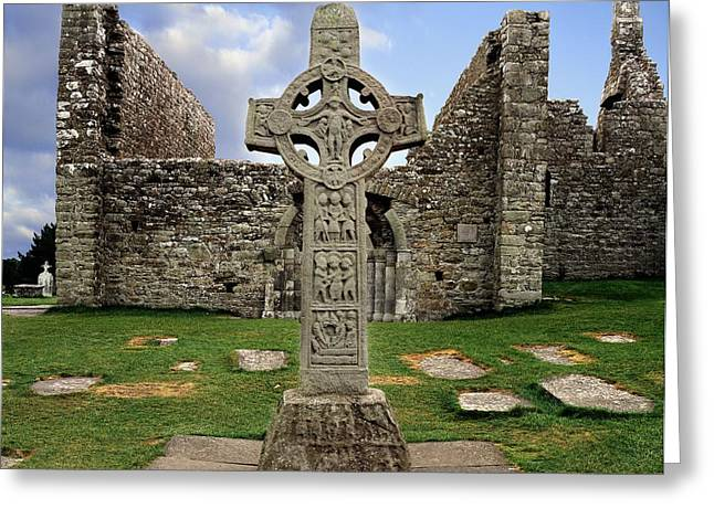 Clonmacnoise, Co. Offaly, Ireland Greeting Card by The Irish Image Collection