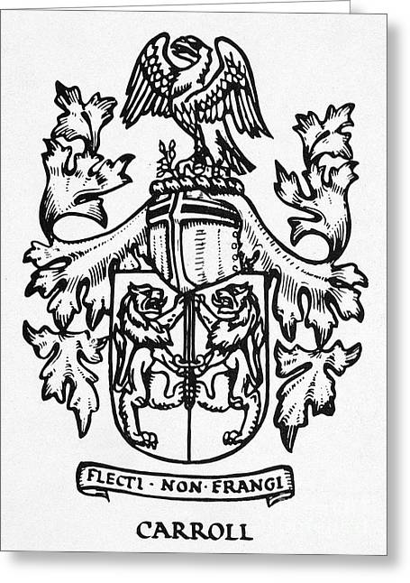 Rampant Greeting Cards - Coat Of Arms Greeting Card by Granger