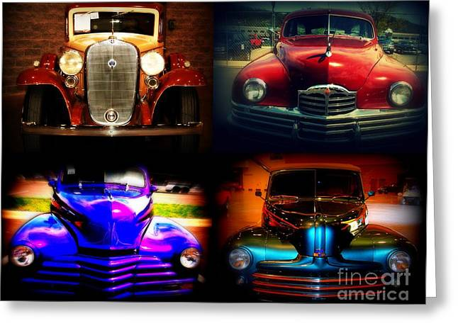 Collector Cars Greeting Card by Susanne Van Hulst