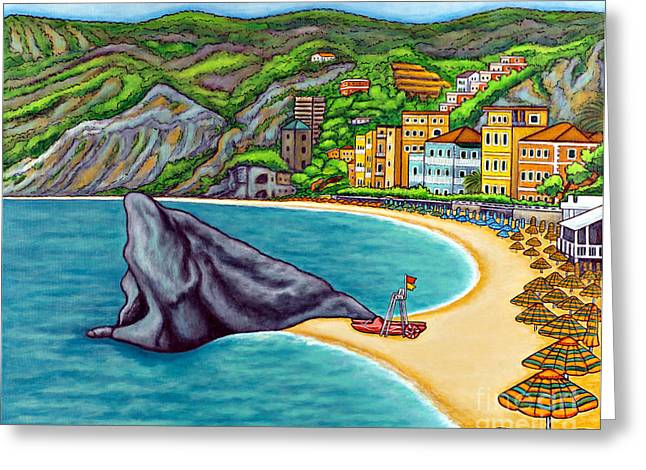 Monterosso Greeting Cards - Colours of Monterosso Greeting Card by Lisa  Lorenz