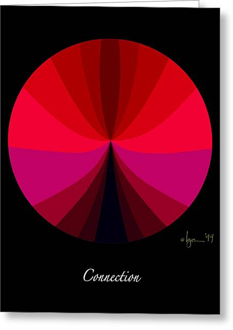 Survivor Art Greeting Cards - Connection Greeting Card by Angela Treat Lyon
