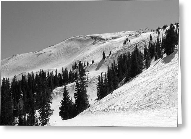 Expert Greeting Cards - Copper Mountain Resort - Union Bowl - Colorado Greeting Card by Brendan Reals