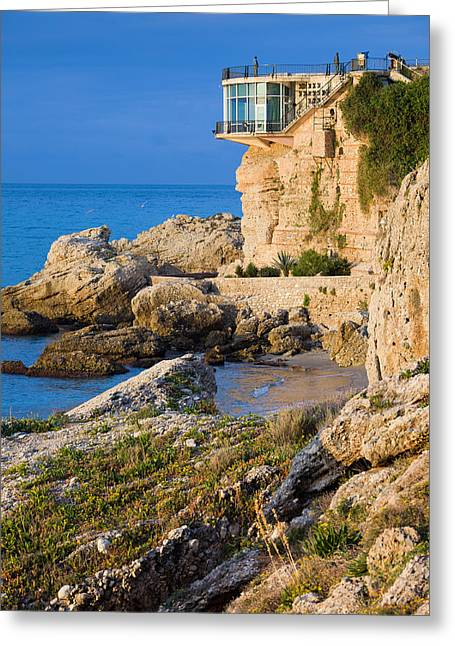 Costa Greeting Cards - Costa del Sol in Spain Greeting Card by Artur Bogacki