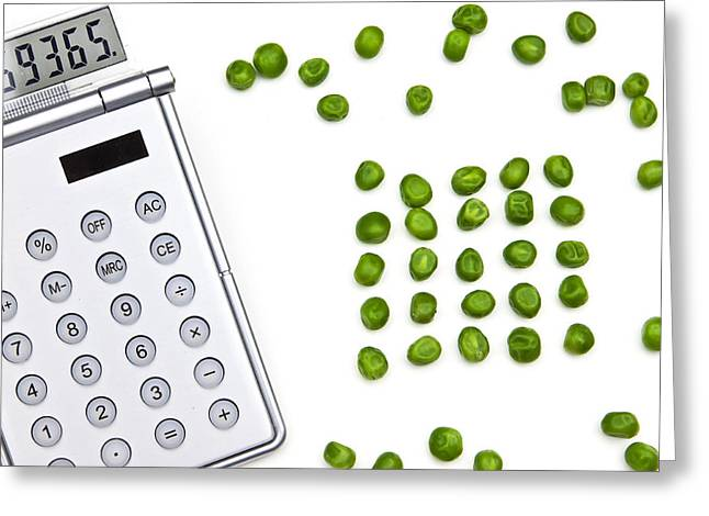 Choosing Photographs Greeting Cards - Counting Peas Greeting Card by Joana Kruse