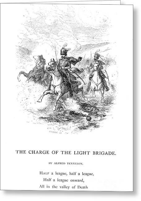 Brigade Greeting Cards - Crimean War: Light Brigade Greeting Card by Granger