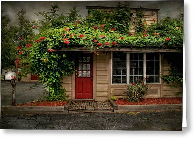 Curb Greeting Cards - Curb Appeal Greeting Card by Robin-lee Vieira