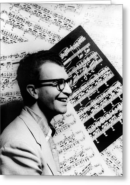Van Vechten Greeting Cards - Dave Brubeck (1920- ) Greeting Card by Granger