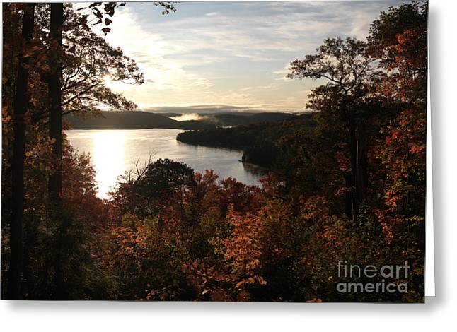 October Framed Greeting Cards - Dawn at Algonquin Park Canada Greeting Card by Oleksiy Maksymenko