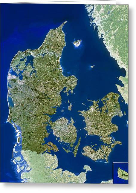 Kattegat Greeting Cards - Denmark Greeting Card by Planetobserver