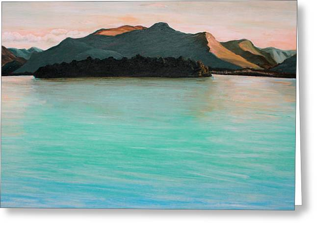 Mountains And Lake Greeting Cards - Derwentwater Lake District England Greeting Card by Ethel Vrana