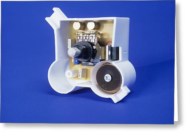Component Greeting Cards - Dimmer Switch Greeting Card by Andrew Lambert Photography
