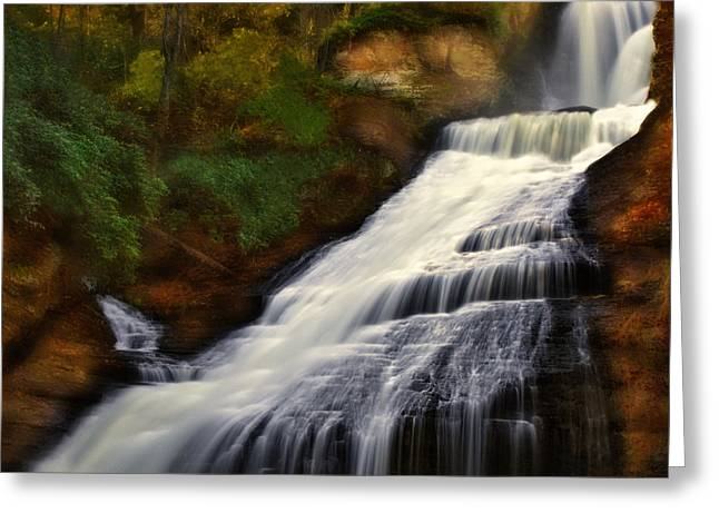 Dingmans Falls Greeting Cards - Dingmans Falls Greeting Card by Susan Candelario
