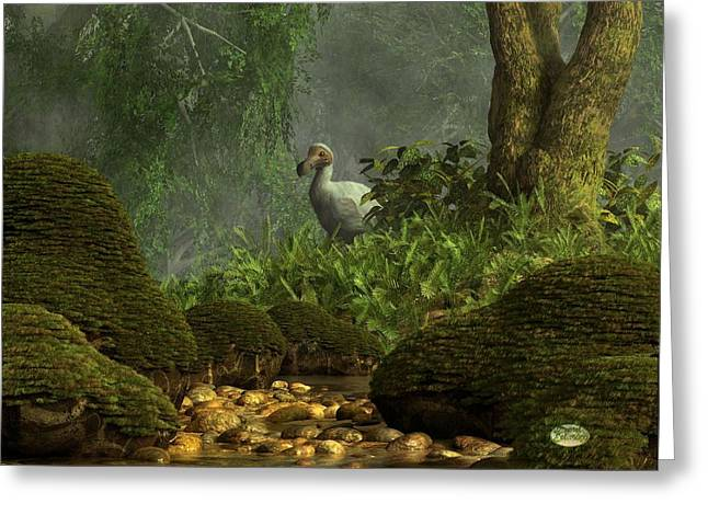 Dodo Greeting Cards - Dodo Creek Greeting Card by Daniel Eskridge