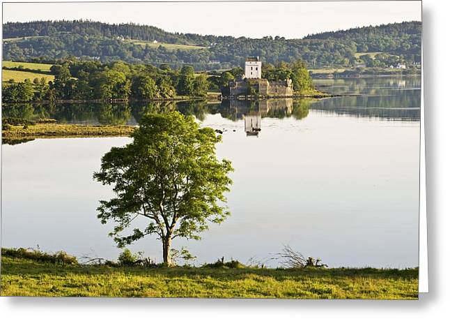 Owen County Greeting Cards - Doe Castle, County Donegal, Ireland Greeting Card by Peter McCabe